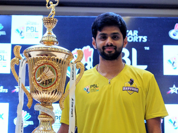 Praneeth heads strong men's singles line-up