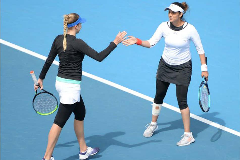 Sania Mirza and Nadiia Kichenok grab Hobart International title