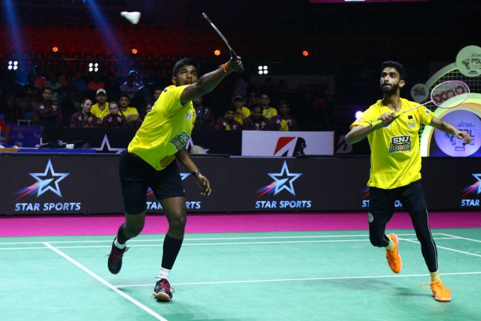 Pbl 2020 Chirag Beats Satwik As Pune 7 Aces Beat Chennai Superstarz Winning Streak