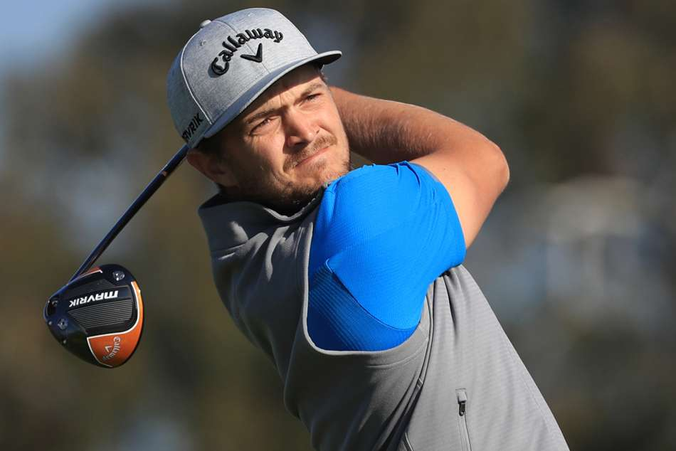 Sebastian Cappelen made eight birdies with two bogeys