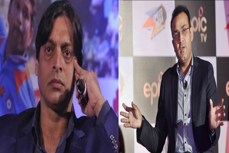 Shoaib Akhtars more maal taunt on Virender Sehwag is vague, former India opener has more money than ex-Pakistan quick