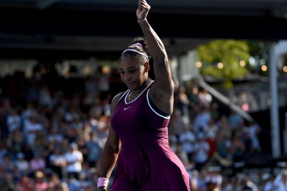 Serena Williams progresses in Auckland