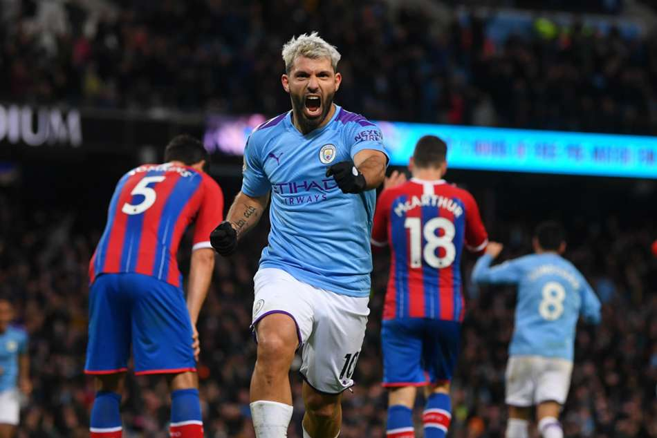 Premier League Wrap: Aguero brace in vain as Palace pilfer point; Sheffield hold Arsenal
