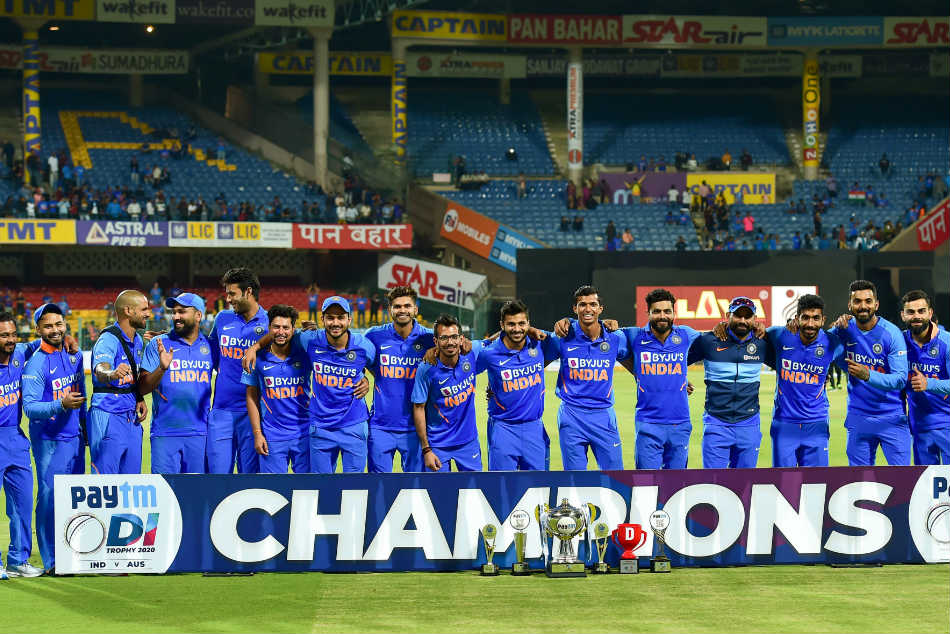 India won the ODI series 2-1 against Australia