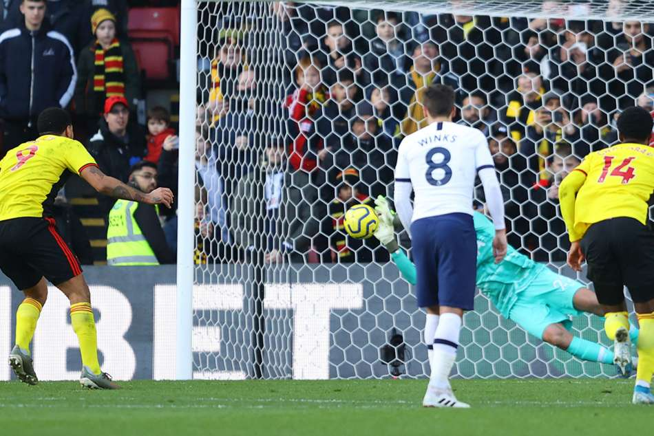 Premier League: Watford 0 Tottenham 0: Gazzaniga rescues Spurs in drab draw