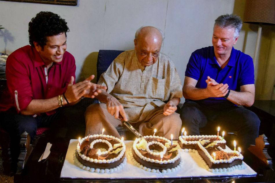 India's oldest living first-class cricketer Vasant Raiji turns 100