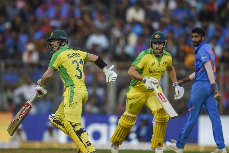 Australian openers David Warner and Aaron Finch negated Indian spearhead Jasprit Bumrahs challenge well