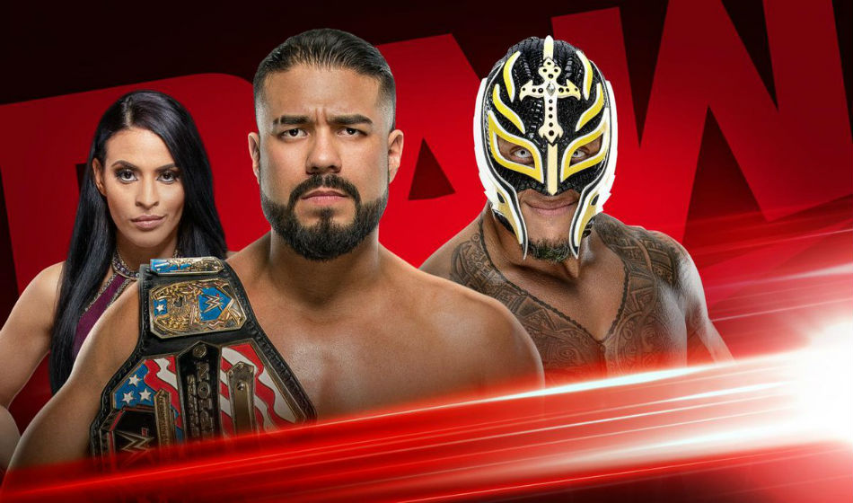 Main Event Ladder Match set for WWE Raw (image courtesy Twitter)