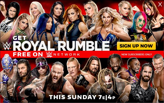 WWE Royal Rumble 2020: Match Card, Predictions, Date, Start Time, When and Where to Watch & more