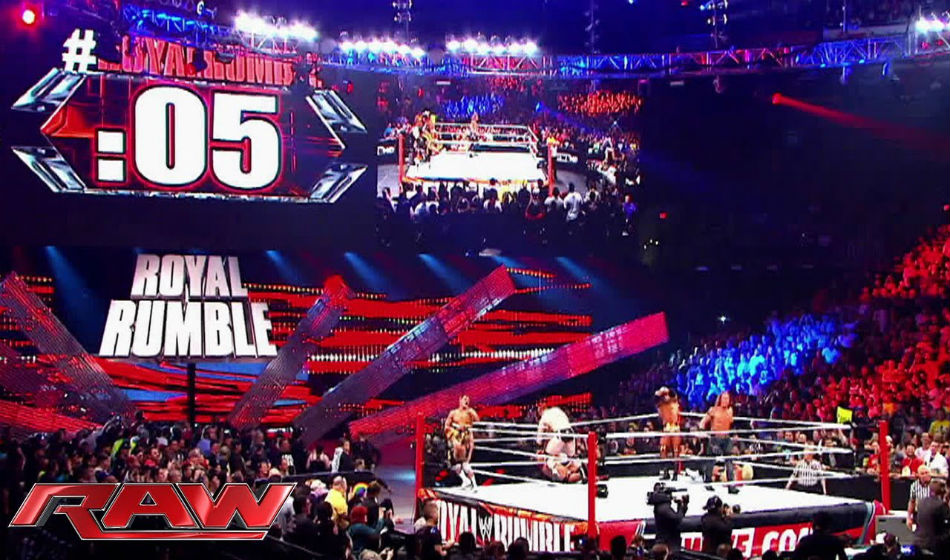 Royal Rumble is one of the most unpredictable nights in WWE (image courtesy YouTube)