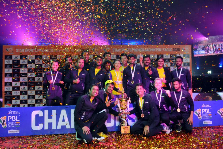 Premier Badminton League 2020: Bengaluru Raptors clinch title: Full list of award winners, prize money