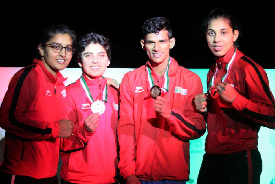 India boxers win 4 silver and a bronze