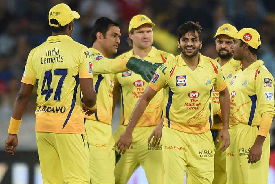 Chennai Super Kings: IPl 2020 schedule