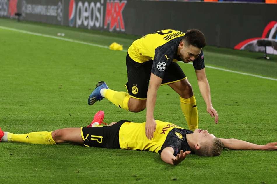 Borussia Dortmund 2-1 Paris Saint-Germain: Haaland brace stuns returning Tuchel