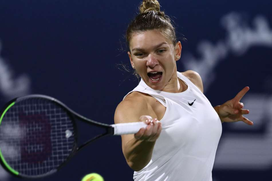 Halep into first final of the year after crushing Brady in Dubai