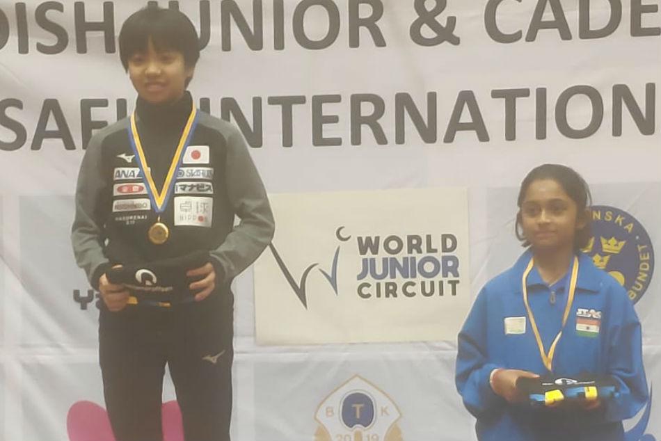 Teen table tennis prodigy Hansini wins bronze in maiden international event in Sweden