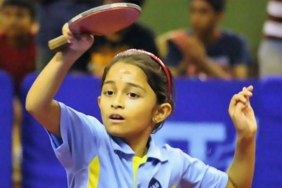 Table Tennis: Teen sensation Hansini makes big strides, to play maiden international event in Sweden