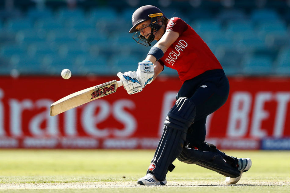 England skipper Heather Knight scored an unbeaten 108 in victory over Thailand (Image Courtesy: Twitter)
