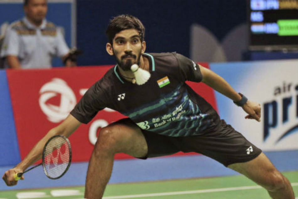 Srikanth leads Indias rout of Kazakhstan in Asia Team Badminton Cships opener