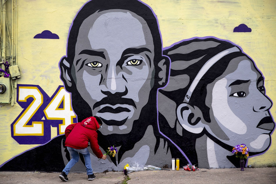 Kobe Bryant and his daughter Gianna were killed in a helicopter crash outside Los Angeles on January 26