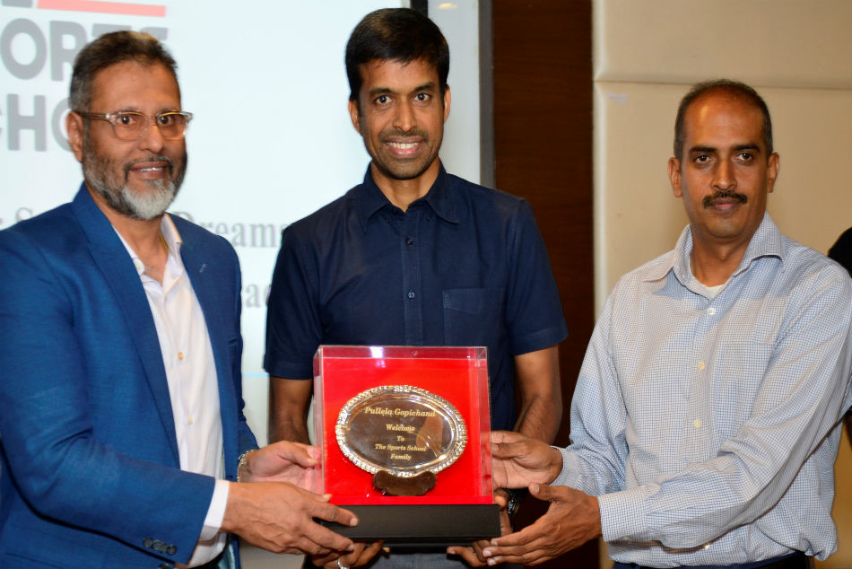 Pullela Gopichand to mentor The Sports School Anup Sridhar Badminton Academy in Bangalore