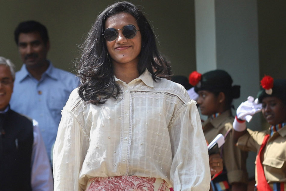 Sindhu lays foundation stone for badminton academy in Chennai