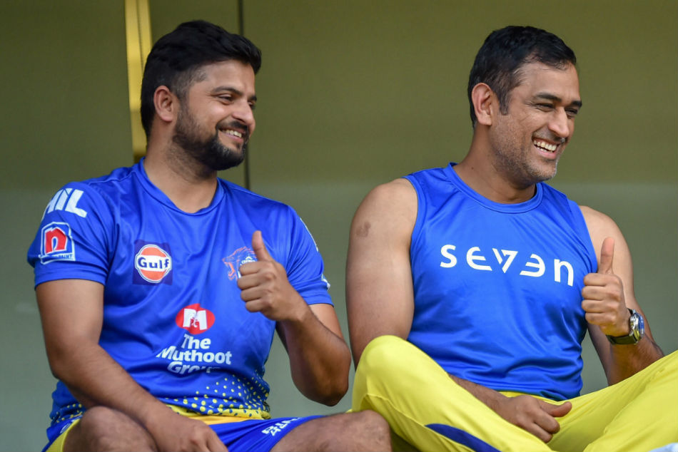 Raina and Dhoni play for the same IPL franchise - the Chennai Super Kings
