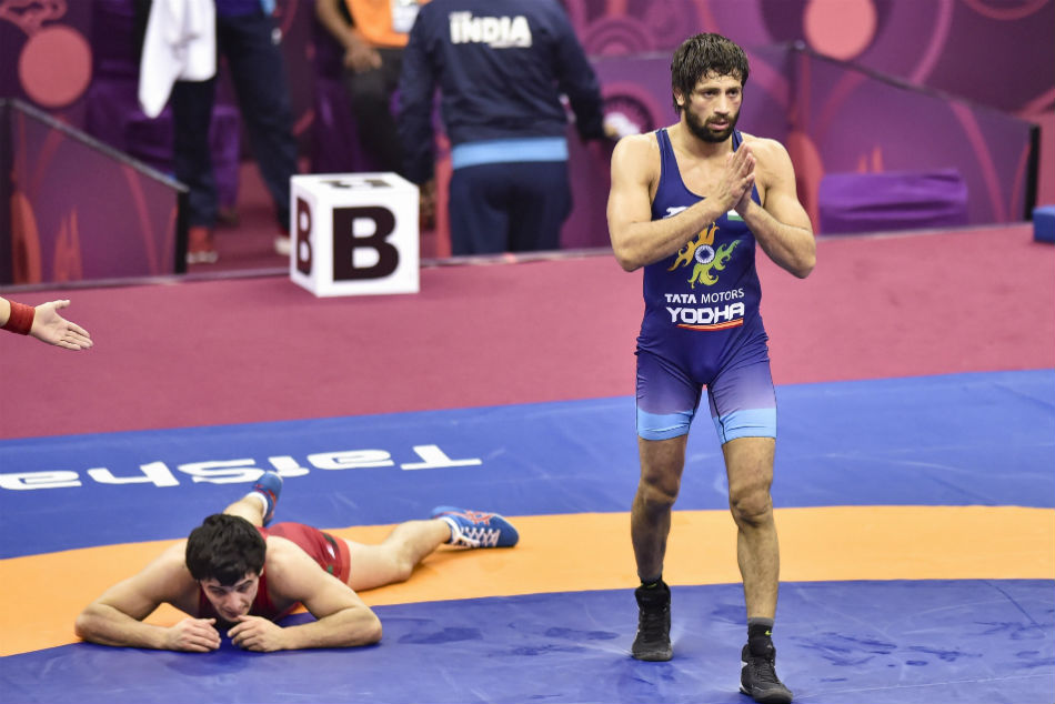 Asian Wrestling Championships: Ravi Dahiya wins gold medal on Day 5, Bajrang Punia settles for silver