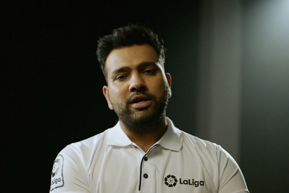 Rohit Sharma features in first-ever campaign as LaLiga brand ambassador in India