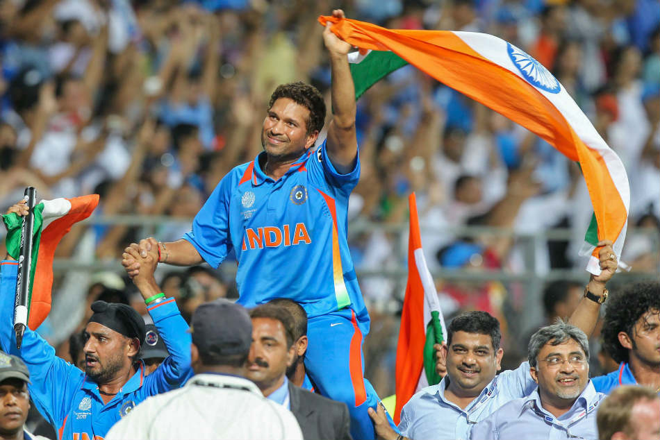 Sachin Tendulkars 2011 World Cup triumph among 5 shortlisted for Laureus Sporting Moment award