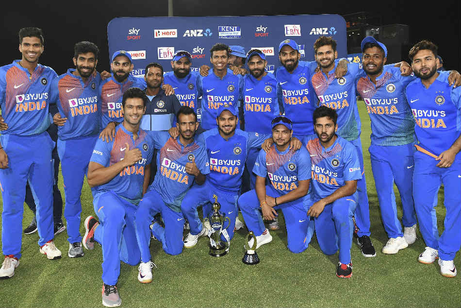 India clinched the T20I series with a 5-0 rout of hosts New Zealand