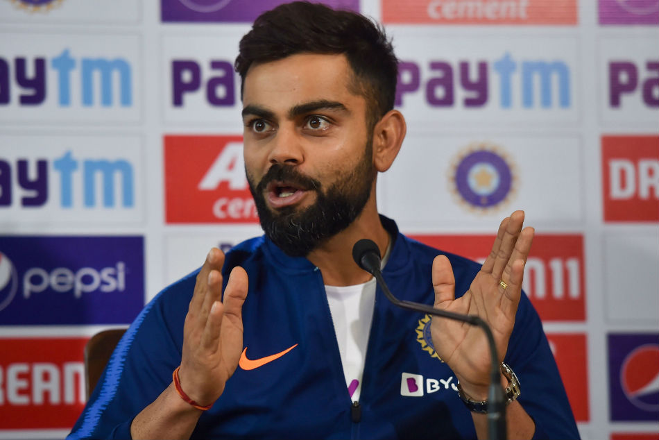 Can't help if people make big deal out of one loss: India skipper Kohli