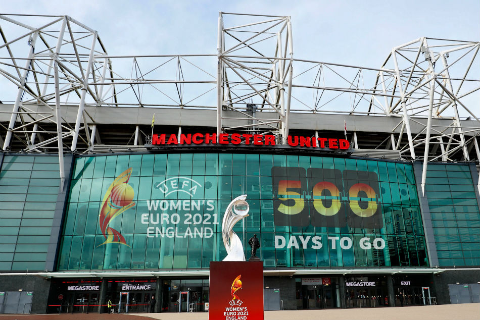 Womens Euro 2021 to kick off at Old Trafford (Image Courtesy: Twitter)