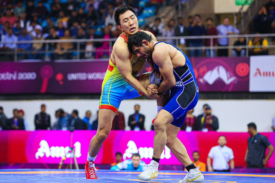 Asian Wrestling Championships India Complete Their Best Ever Performance