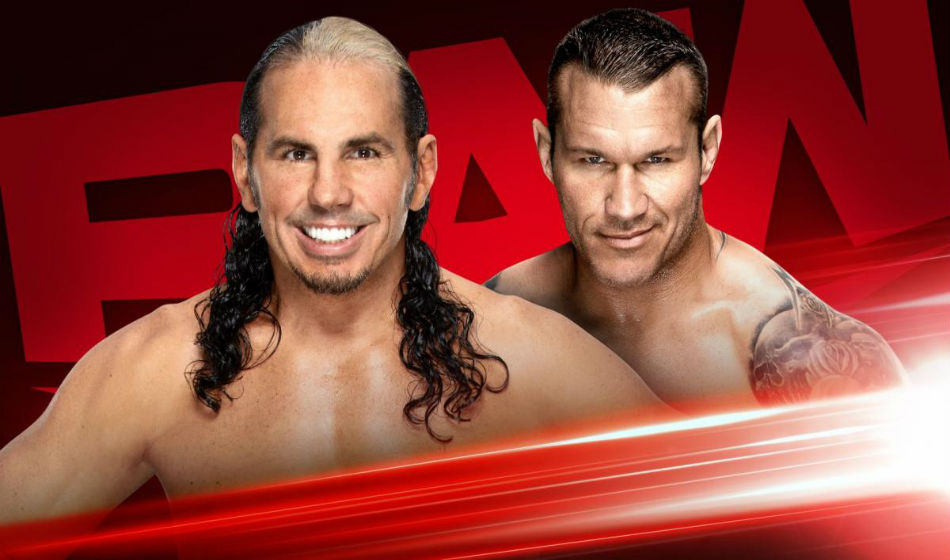 Hardy vs. Orton No Holds Barred match set for WWE Raw (image courtesy WWE.com)