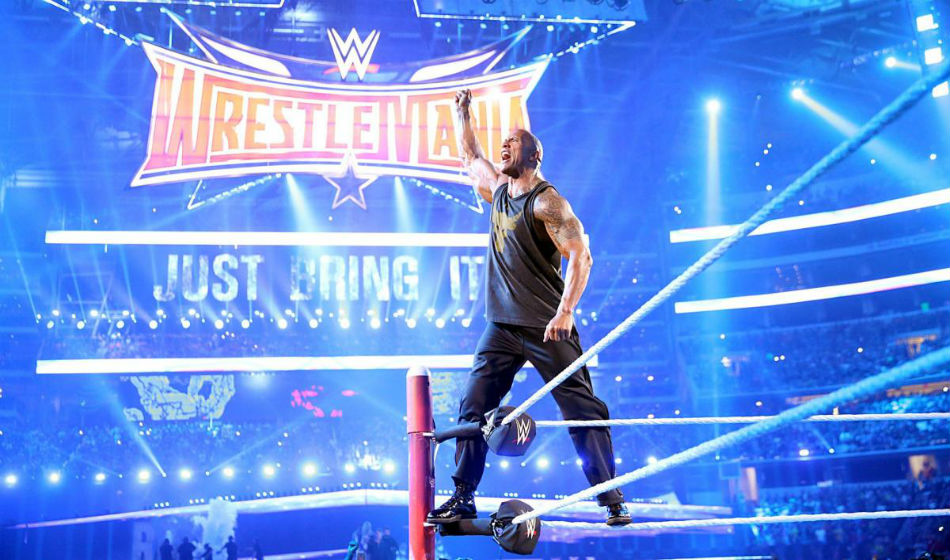 Wwe Plan Blockbuster Match Featuring The Rock At Wrestlemania 37