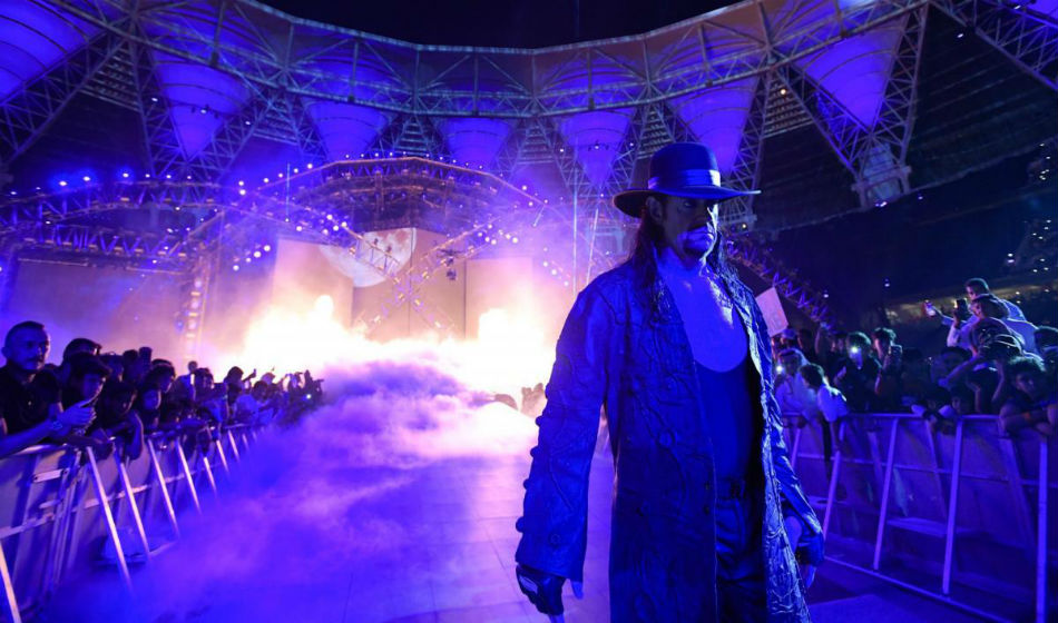 The Undertaker (image courtesy WWE.com)