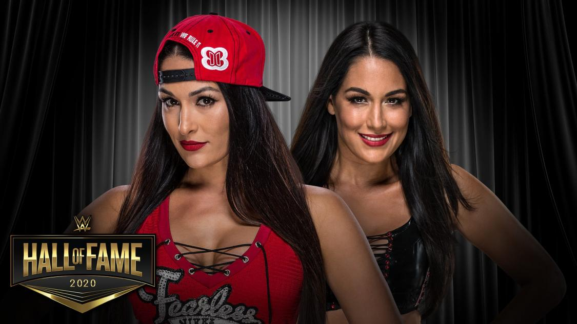 WWE announces The Bella Twins for 2020 Hall of Fame Class
