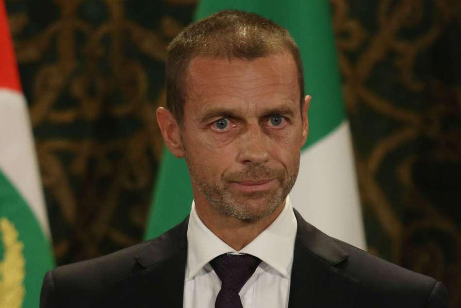 Coronavirus: UEFA president Ceferin concedes 2019-20 season could be lost