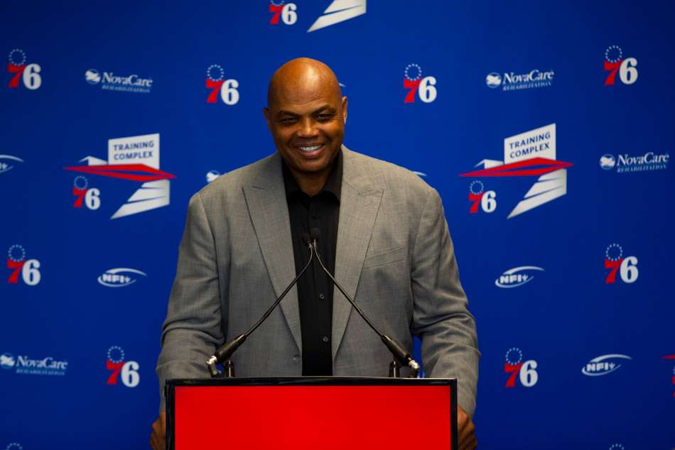 On this day in sport: Barkley honoured by 76ers and Phelps' world record