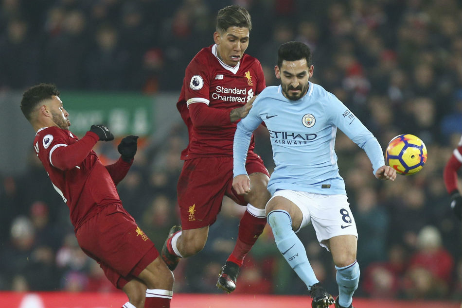 Liverpool deserve title if season is cancelled, says Manchester City's Gundogan