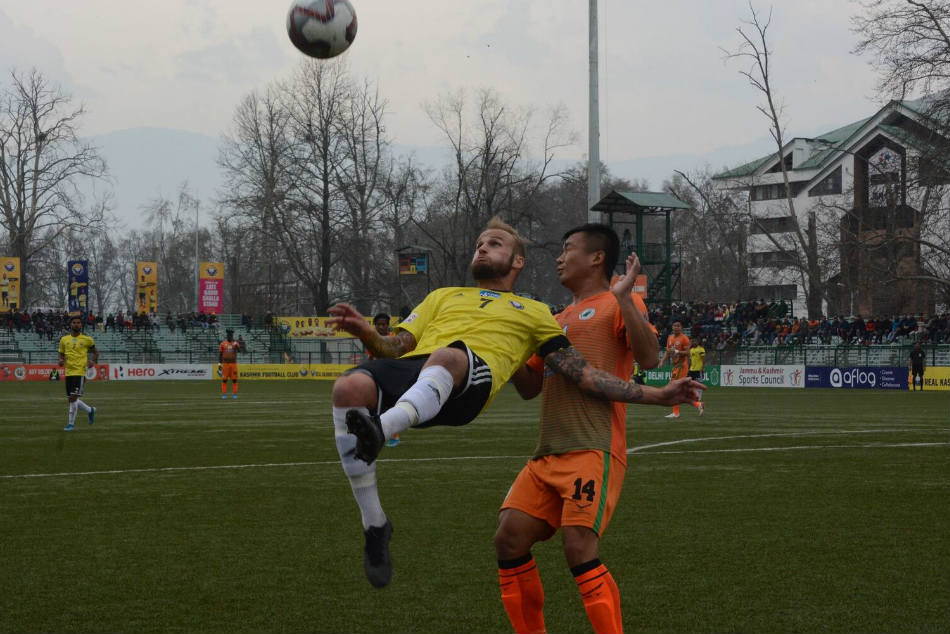 Hero I-League: Real Kashmir climb to third with win over Neroca