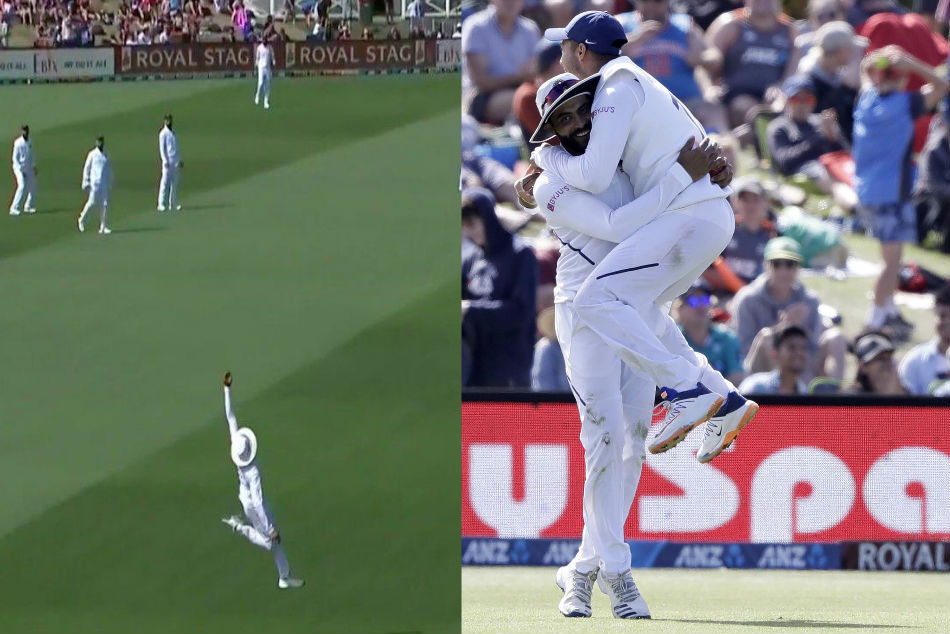 India vs New Zealand: Pune Police hails Ravindra Jadeja for his superman catch, asks if it is kanoon ka hath?