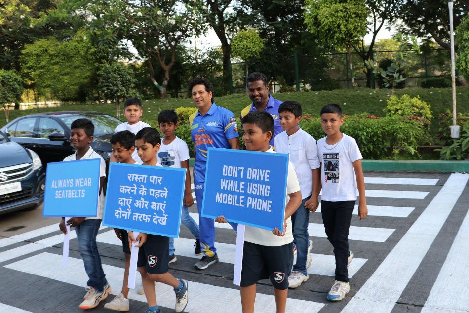 Road Safety World Series 2020: Legends Sachin Tendulkar, Muthiah Muralitharan unfold street security message