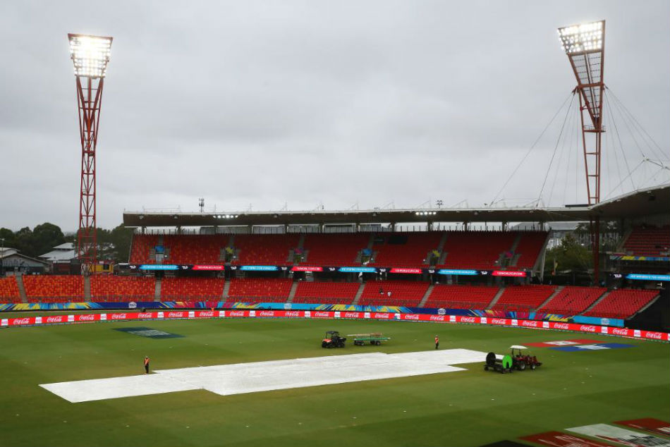 Sydney Cricket Ground braced for rain? (Image Courtesy: T20 WC Twitter)