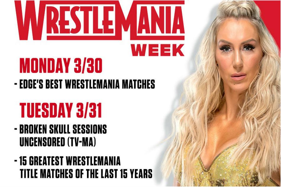 WWE Network reveal Wrestlemania 36 week schedule