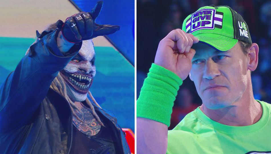 John Cena vs. The Fiend at Wrestlemania 36 (image courtesy WWE.com)