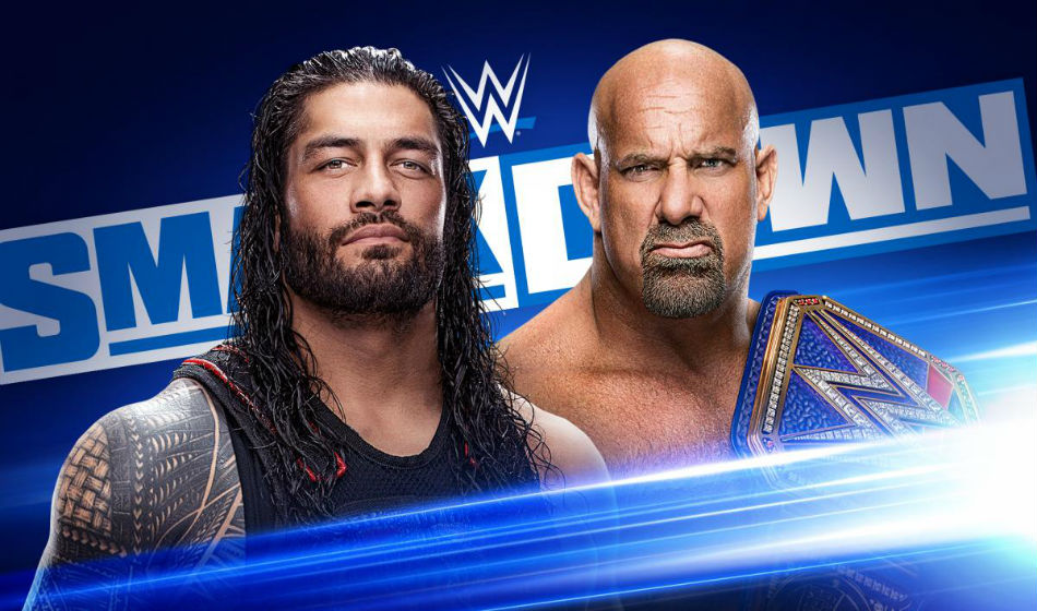 Wrestlemania contract signing set for Smackdown (image courtesy WWE.com)
