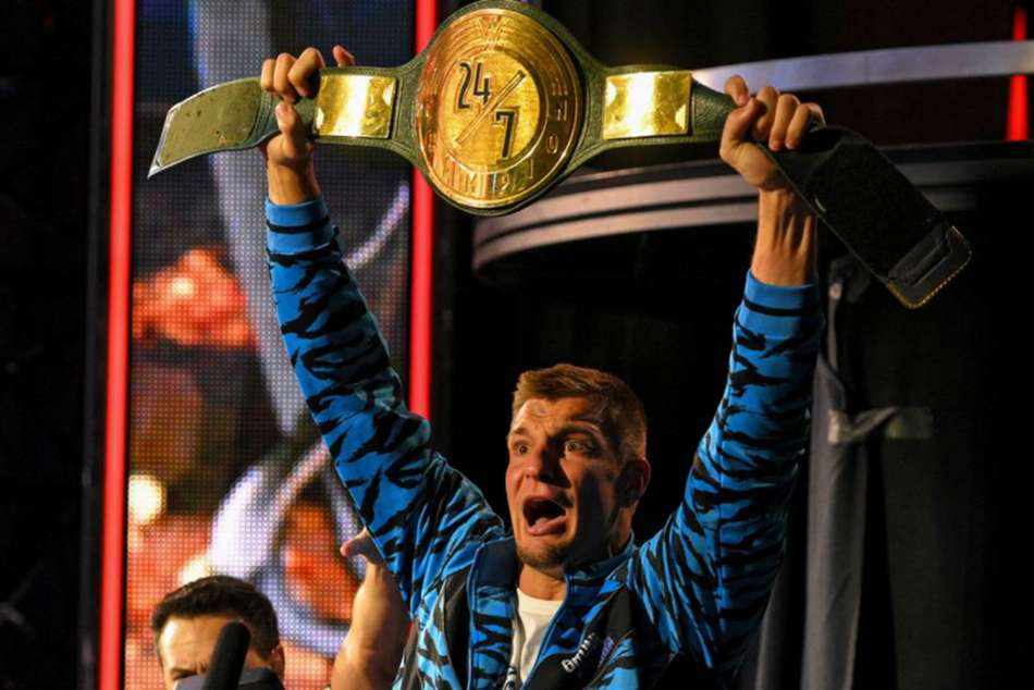 WrestleMania 36: Ex-Pats star Gronkowski wins first WWE belt