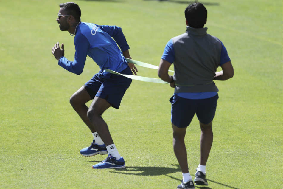 For Hardik Pandya there is no rest day, even amidst lockdown